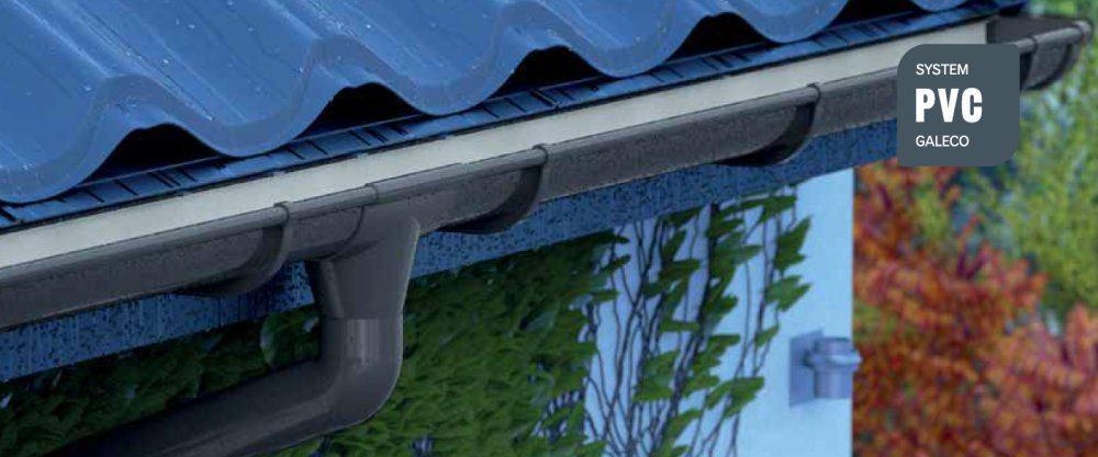 System rynnowy Galeco PVC